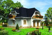 Изысканный двухэтажный жилой дом с цокольным этажом