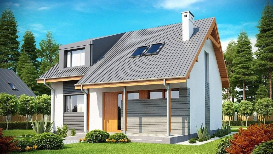 Проект небольшого и уютного практичного дома