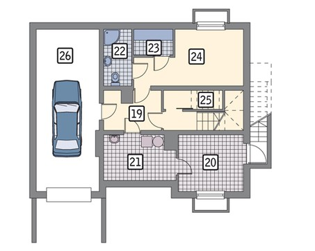 Презентабельная усадьба с гаражом на 1 авто