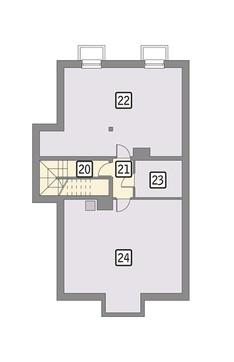 Магазин с цокольным этажом и жилыми апартаментами
