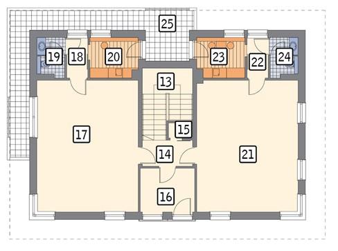 Двухэтажное здание с торговыми залами