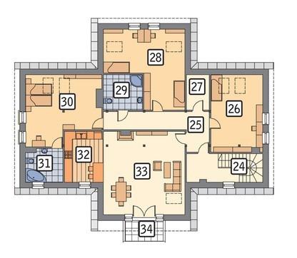 Двухэтажный торговый комплекс универсального назначения