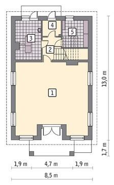 Торговый комплекс на два этажа