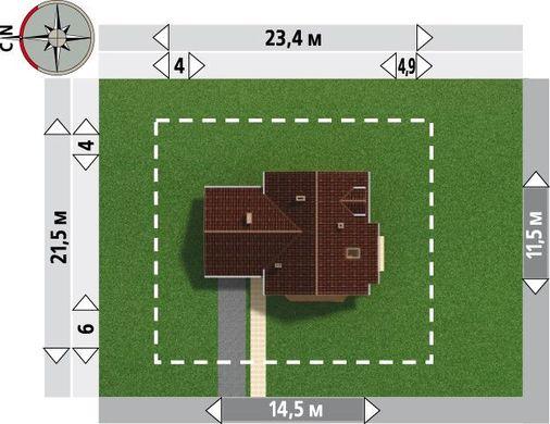 Проект невероятного дома красивыми комнатами