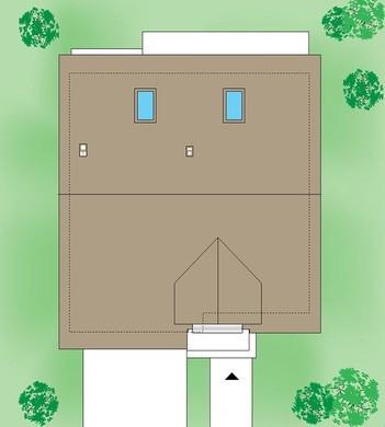 Стильный особняк с четырьмя спальнями
