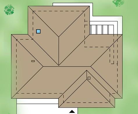 Одноэтажный дом с гаражом на три машины жилой площадью свыше 100 квадратов