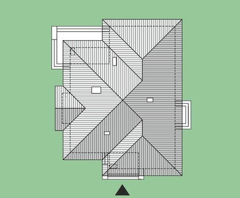 Коттедж с камином-барбекю и тремя спальнями