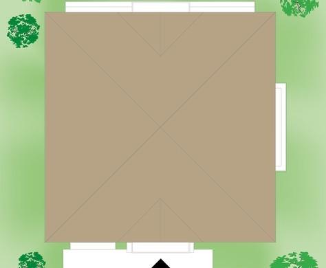 Роскошный дом с ажурными балконами
