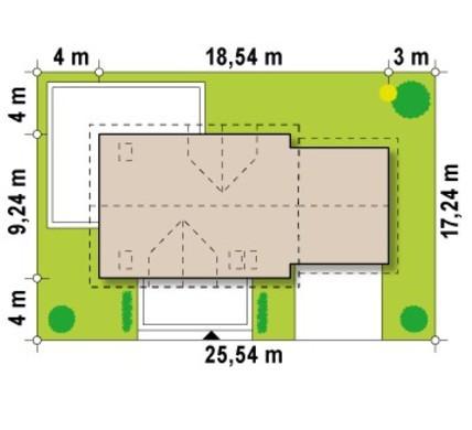 Большой просторный коттедж с красивыми балконами