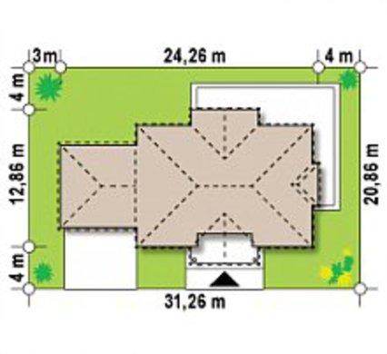 Проект особняка в дворянском стиле с сауной