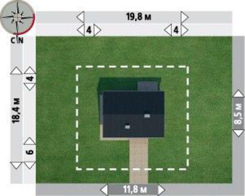 Пригожий особняк площадью до 100 квадратов
