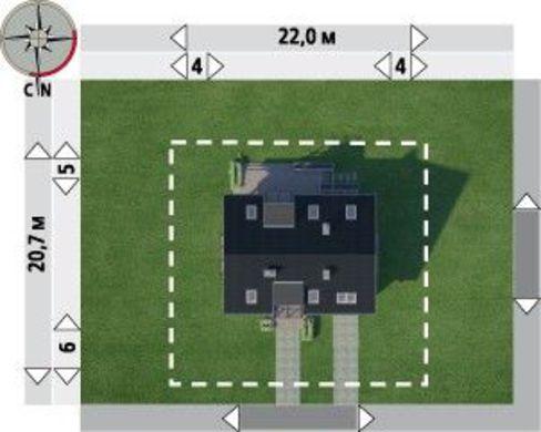 Проект загородной усадьбы для счастливой семьи