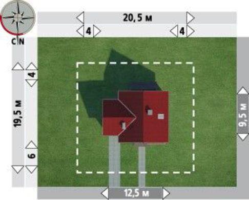 Проект замечательной загородной усадьбы с удобной планировкой